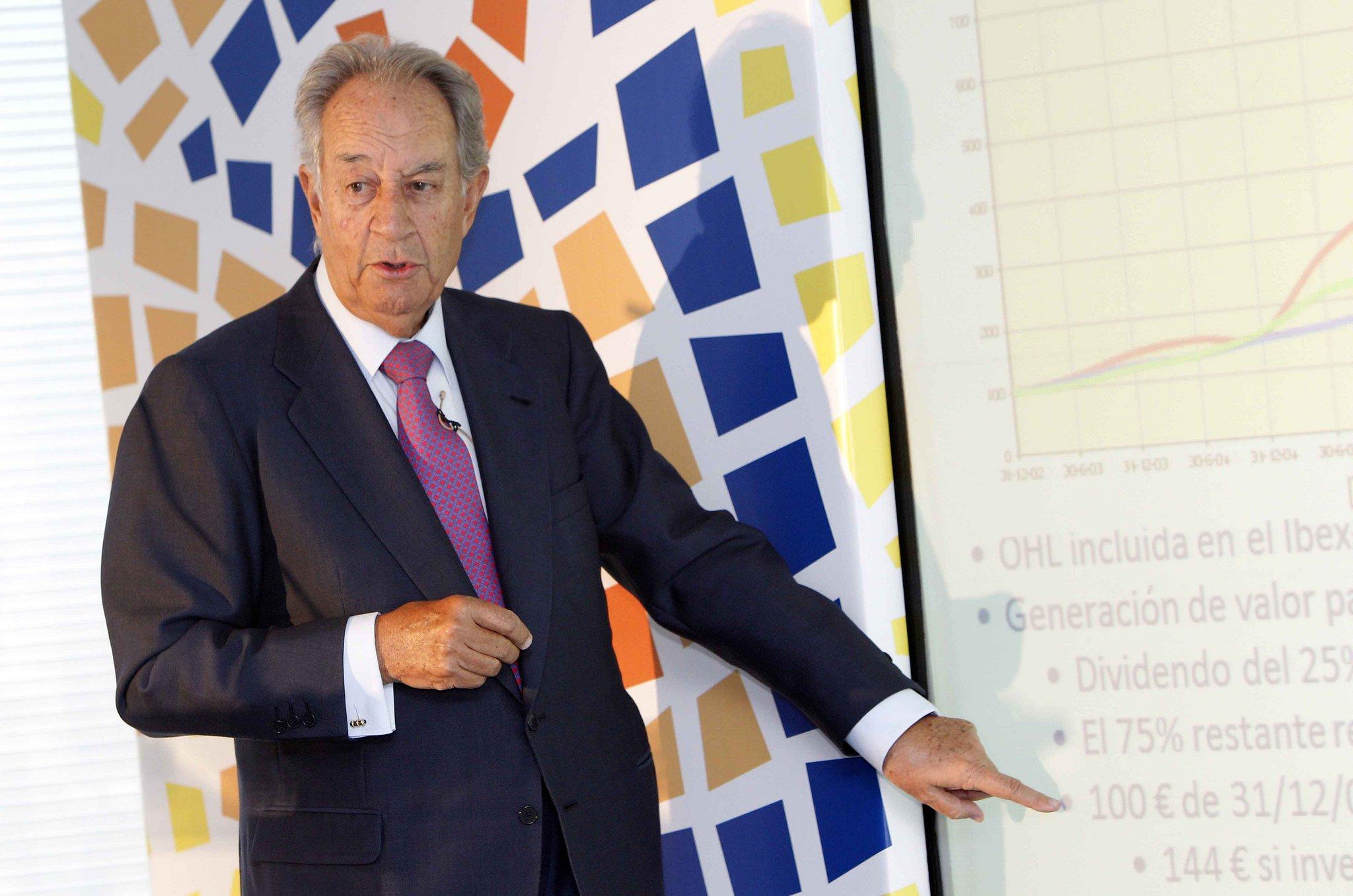 Juan Miguel Villar Mir deja en herencia una sociedad patrimonial cuyos activos están valorados en unos 2.200 millones de euros.