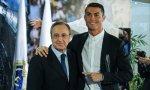 Ronaldo, un modelo de deportista; Florentino, un modelo de madridista.