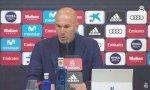 Zidane dimite como entrenador del Real Madrid.