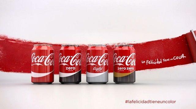 """Coca-Cola y su última horterada para lavar su imagen en España: """"La felicidad tiene un color"""""""