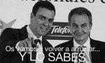 Meme que circula por Internet con Sánchez y Zapatero