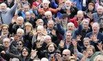 Pensionistas reclamando pensiones dignas. ¿Seguirán reclamándoselas a Sánchez?