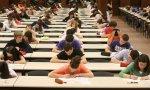 Estudiantes haciendo los exámenes de la EvAU, conocida popularmente como Selectividad