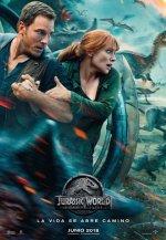 Cartel de la película 'Jurassic World: el reino caído'.