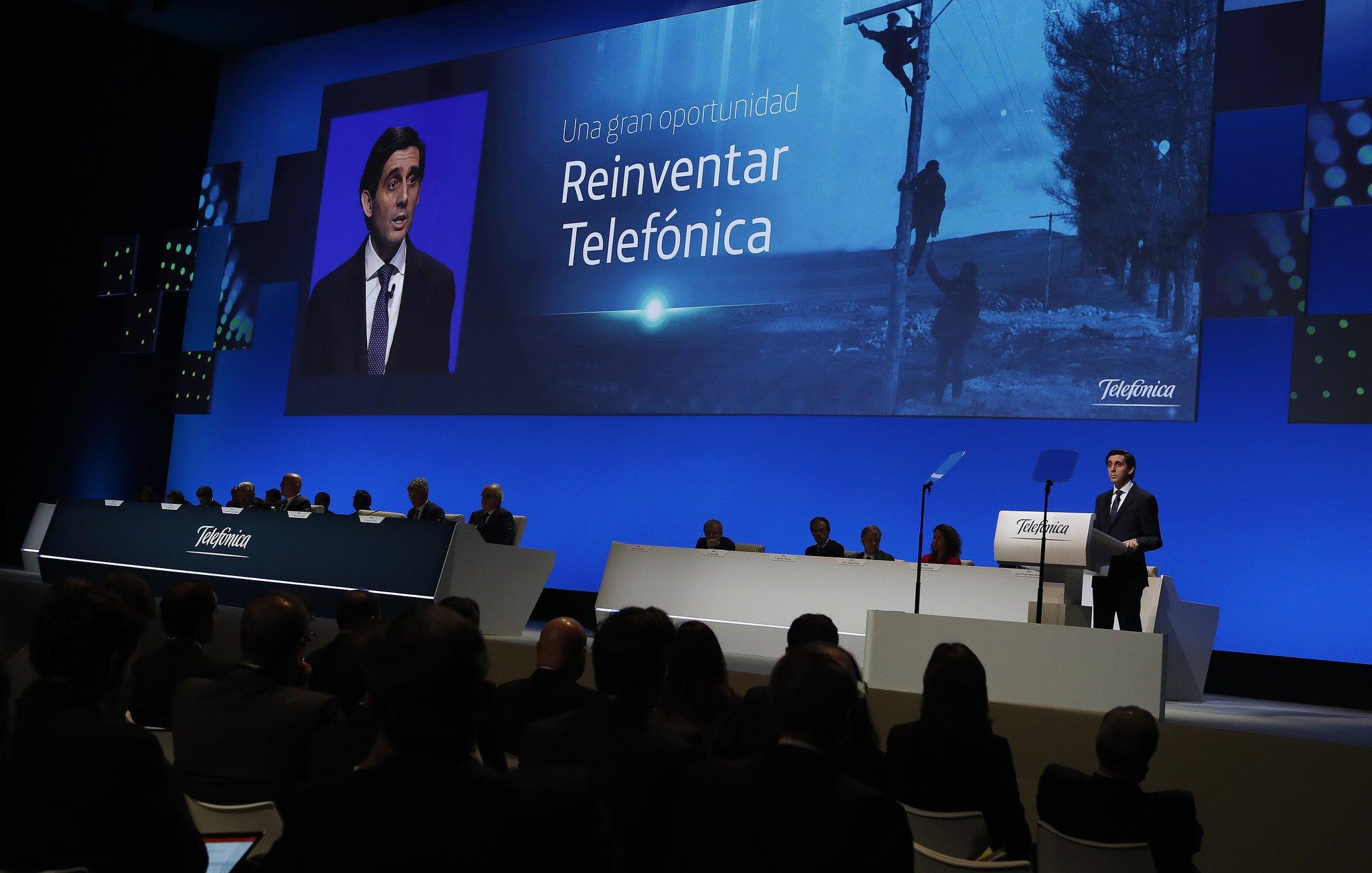 José María Álvarez-Pallete plantea, desde Barcelona, la nueva Telefónica: Google sí, Amazon también; Apple no