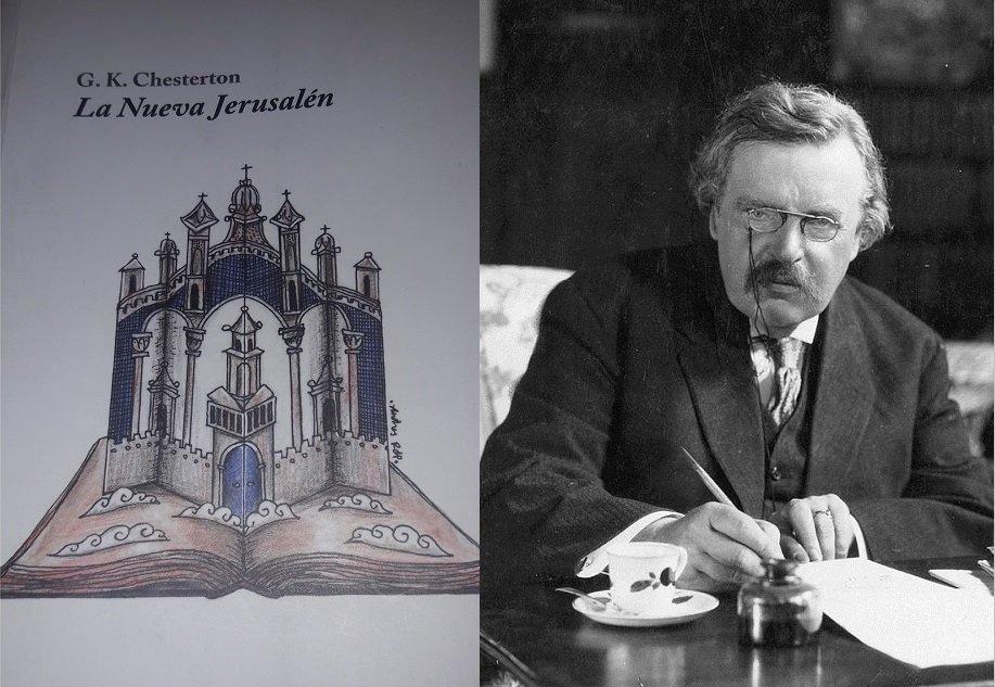 'La Nueva Jerusalén', obra genial de GK Chesterton