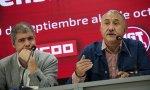Unai Sordo (CCOO) y Pepe Álvarez (UGT) sólo apuntan a Bankia