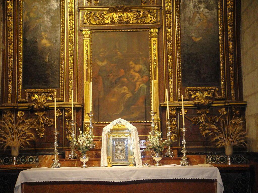 Altar del Sagrario de la Iglesia de San Nicolás de Córdoba