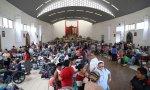 Cáritas también ha acogido a los damnificados en parroquias.
