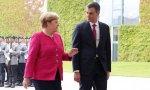 Pedro Sánchez le echa un pulso a Angel Merkel: no pactará con el PP