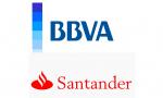 Logo BBVA y Santander