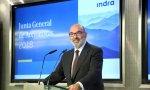 El presidente de Indra, Fernando Abril-Martorell, se ha puesto la venda antes que la herida.