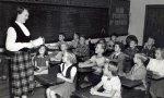 Escuela infantil del siglo XX.