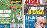 La prensa deportiva, muy crítica con la actuación de España en el Mundial