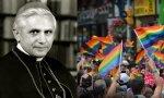 Benedicto XVI de joven y el Orgullo Gay en Madrid.