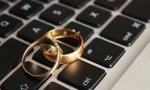 Alrededor de 6 millones de parejas se han comprometido por Internet.