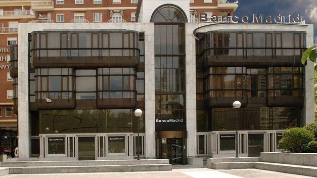 La mafia china intentó comprar Banco Madrid