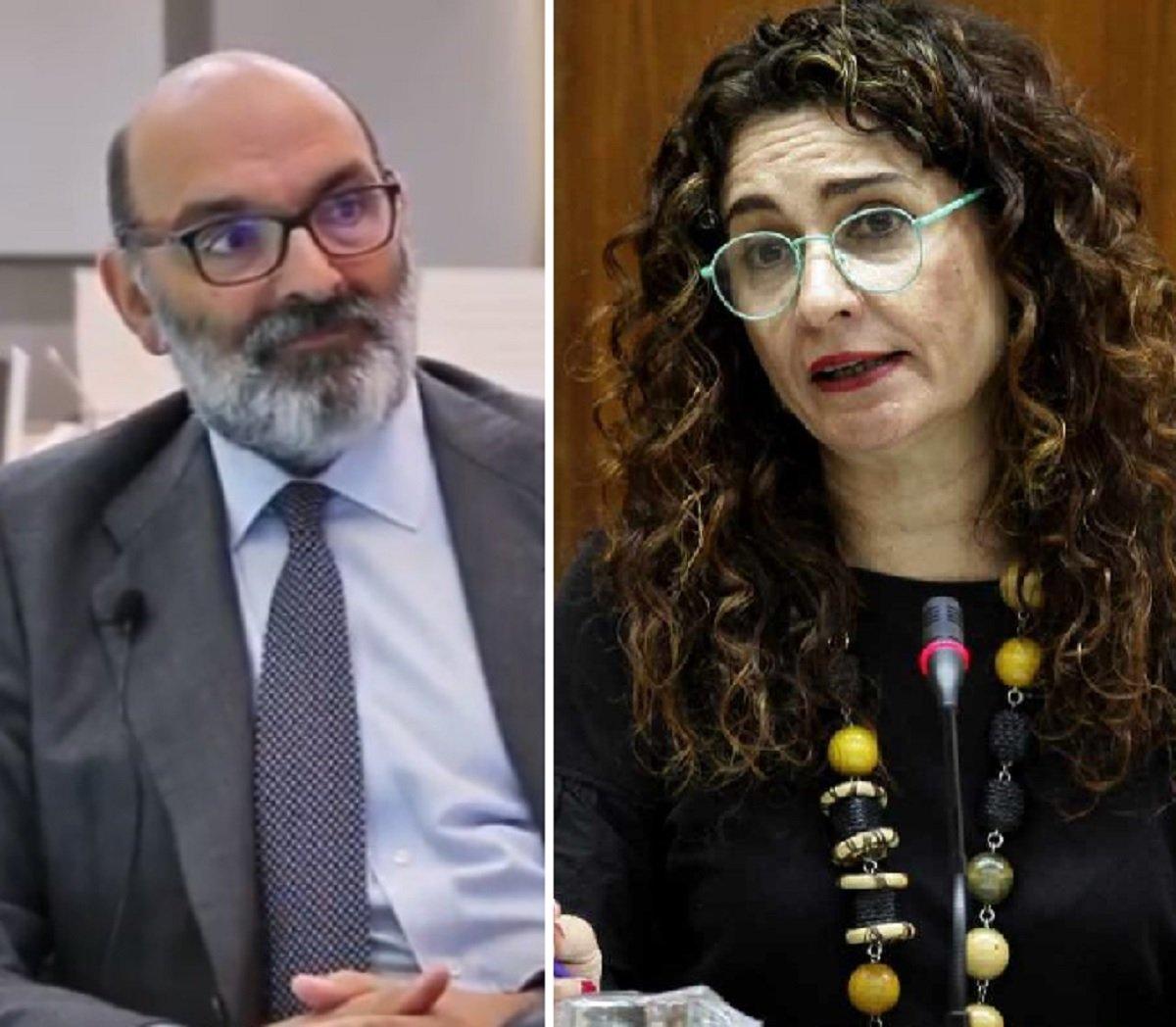 Fernando Abril-Martorell a la ministra de Hacienda, María Jesús Montero: Indra es una empresa privada.