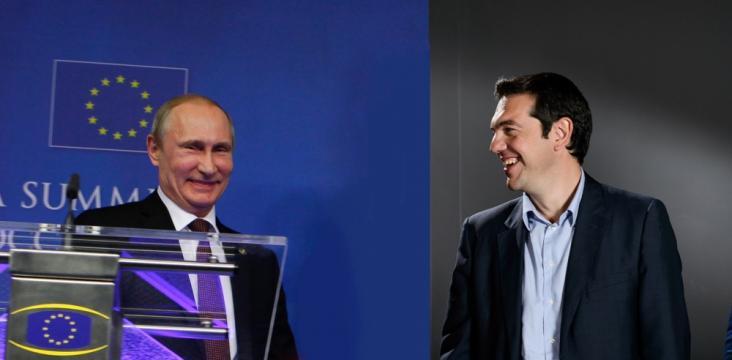 Viaje de Tsipras a Rusia. Grecia rompe la UE para vengarse del BCE