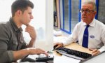 Las pensiones de jubilación no son bajas, los salarios sí.