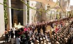 Corpus Christi. Procesión en Toledo. La iglesia vive de la Eucaristía, el cristiano también.