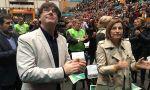 Soraya propone detener a Puigdemont y a Forcadell