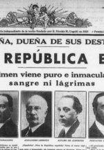 La II República fue democrática, aunque la izquierda la uso para empoderarse a base de pucherazos en las urnas