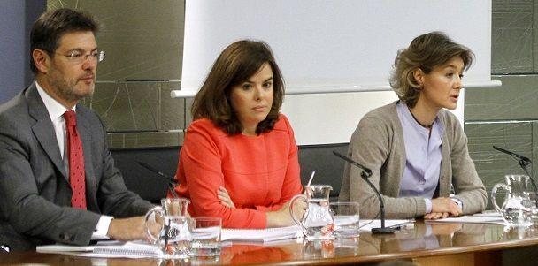 Consejo de Ministros. Las dos tonadas falsas de Soraya: aborto y Marruecos