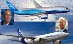 Dennis Muilenburg (Boeing) vence a Thomas Enders (Airbus) en la primera mitad del año.