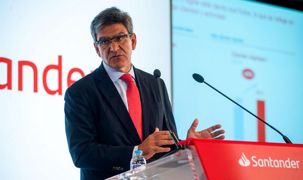 José Antonio Álvarez, CEO del Santander, quiere gobierno cuanto antes