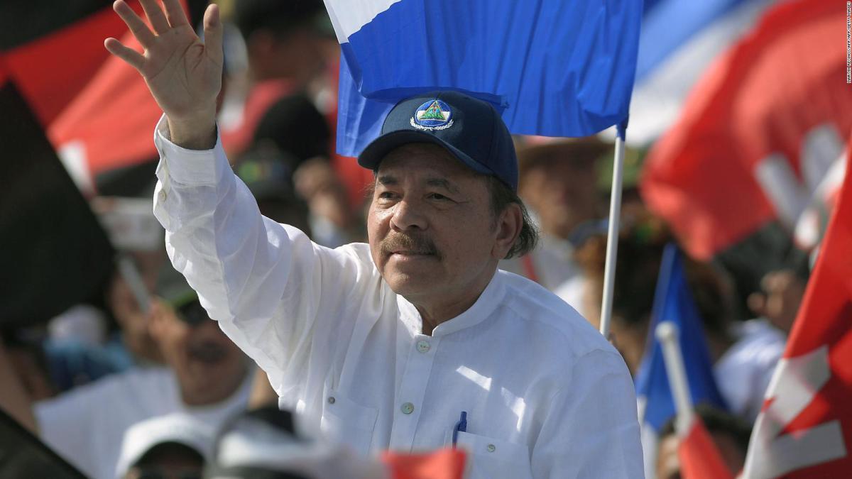 El dictador Daniel Ortega