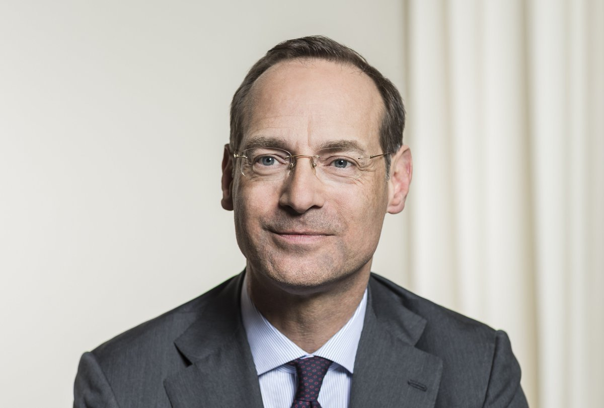 Oliver Bate, presidente de Allianz