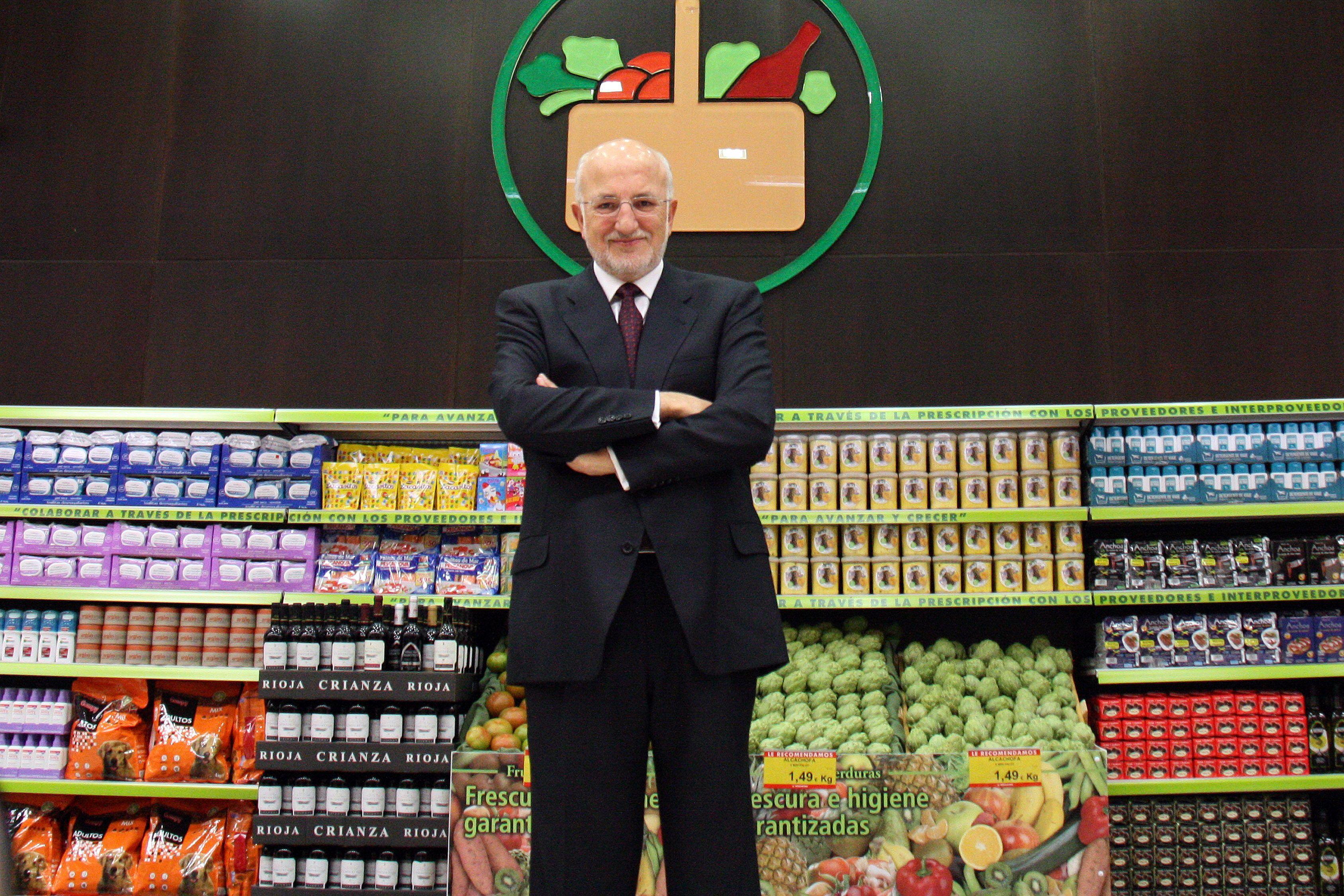 El presidente de Mercadona Juan Roig mantuvo su sueldo en cinco millones