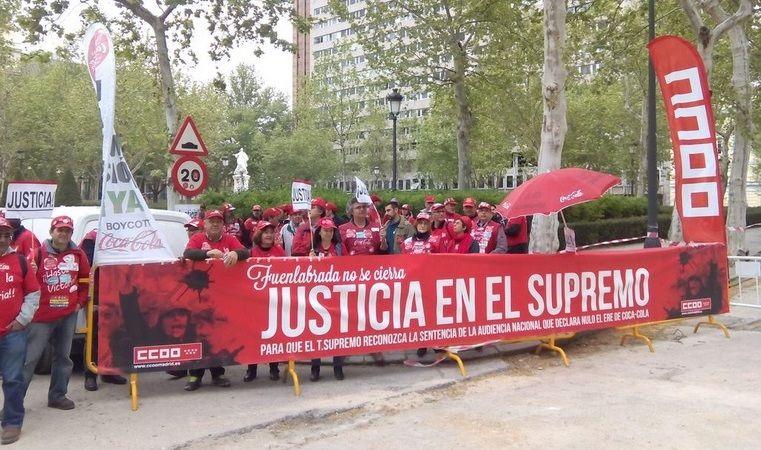 Coca-Cola. El Supremo declara nulo el ERE, pero los sindicatos dudan de que readmita a los despedidos