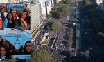 La 'marea azul' provida se ha impuesto en Argentina