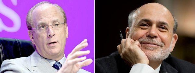 El temerario BlackRock quita y pone gobiernos y el gran árbitro de la crisis, Bernanke, ficha por un fondo especulativo
