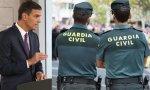 Pedro Sánchez no parece dispuesto a apoyar a la Guardia Civil