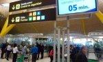 Los vigilantes mantienen la huelga en el aeropuerto de Madrid Barajas