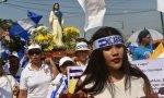 Marcha católica nicaragüense por el fin de la violencia del país
