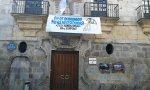 """La AUGC pedirá """"responsabilidades"""" por esta pancarta en el casco viejo de la capital vizcaína."""