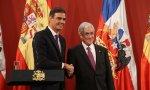 Pedro Sánchez se reúne con su homólogo chileno, Sebastián Piñera, pero tienen ideas muy distintas