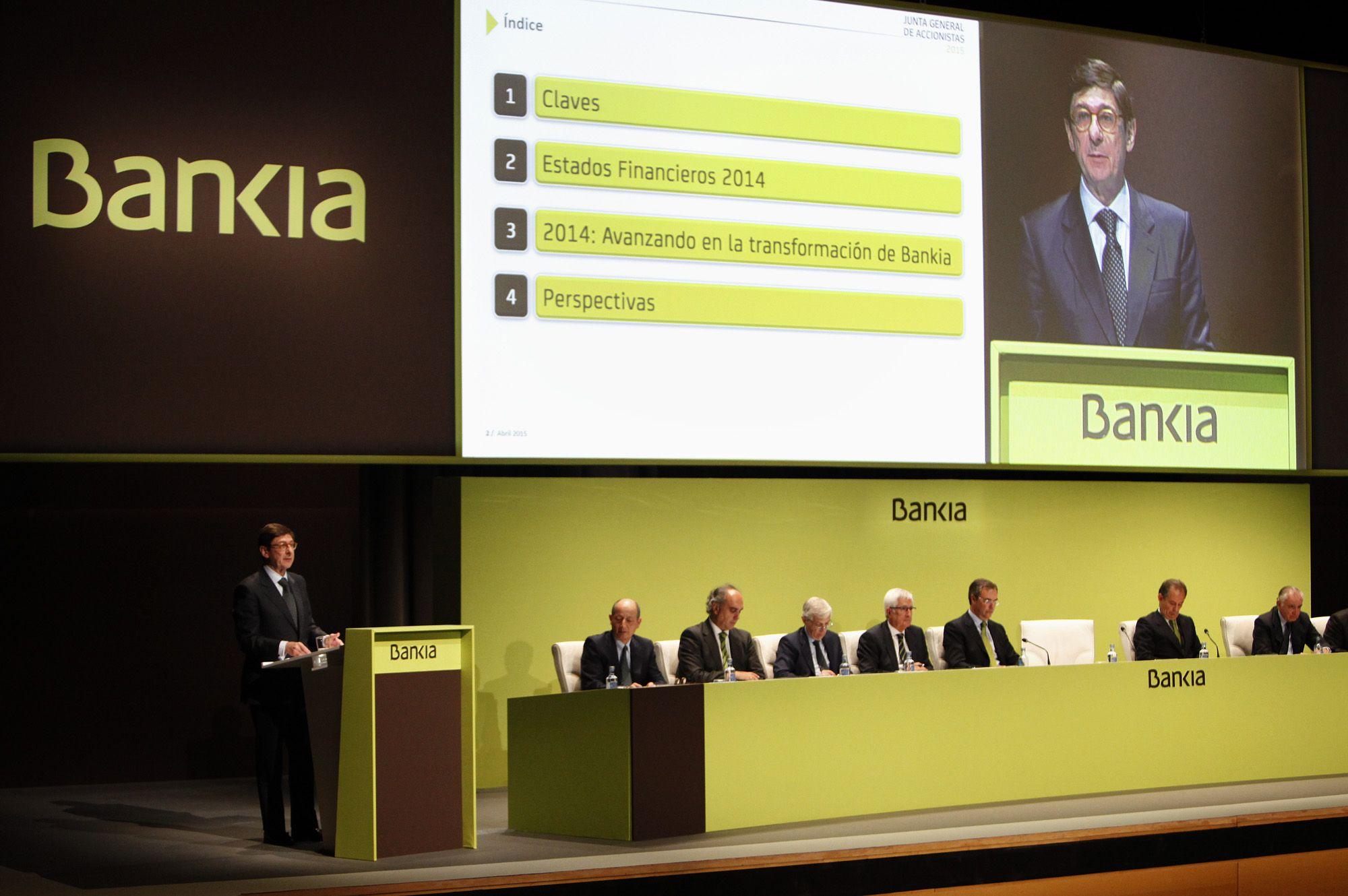 Bankia. Goirigolzarri soporta otra junta de 'orden público'