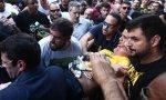 Jair Bolsonaro, instantes después de ser apuñalado