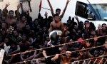 Inmigrantes llegan a Ceuta