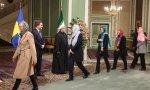 Ministras suecas se rinden ante el Islam durante su visita a Irán en 2017