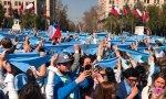 El 'Pañuelazo por las dos vidas' volvió a mostrar que hay muchos chilenos luchando contra el aborto, pese a ser legalizado por Bachelet.