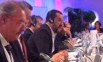 Salvini en la cumbre europea sobre migración.
