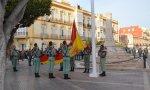 Izado de bandera en Melilla