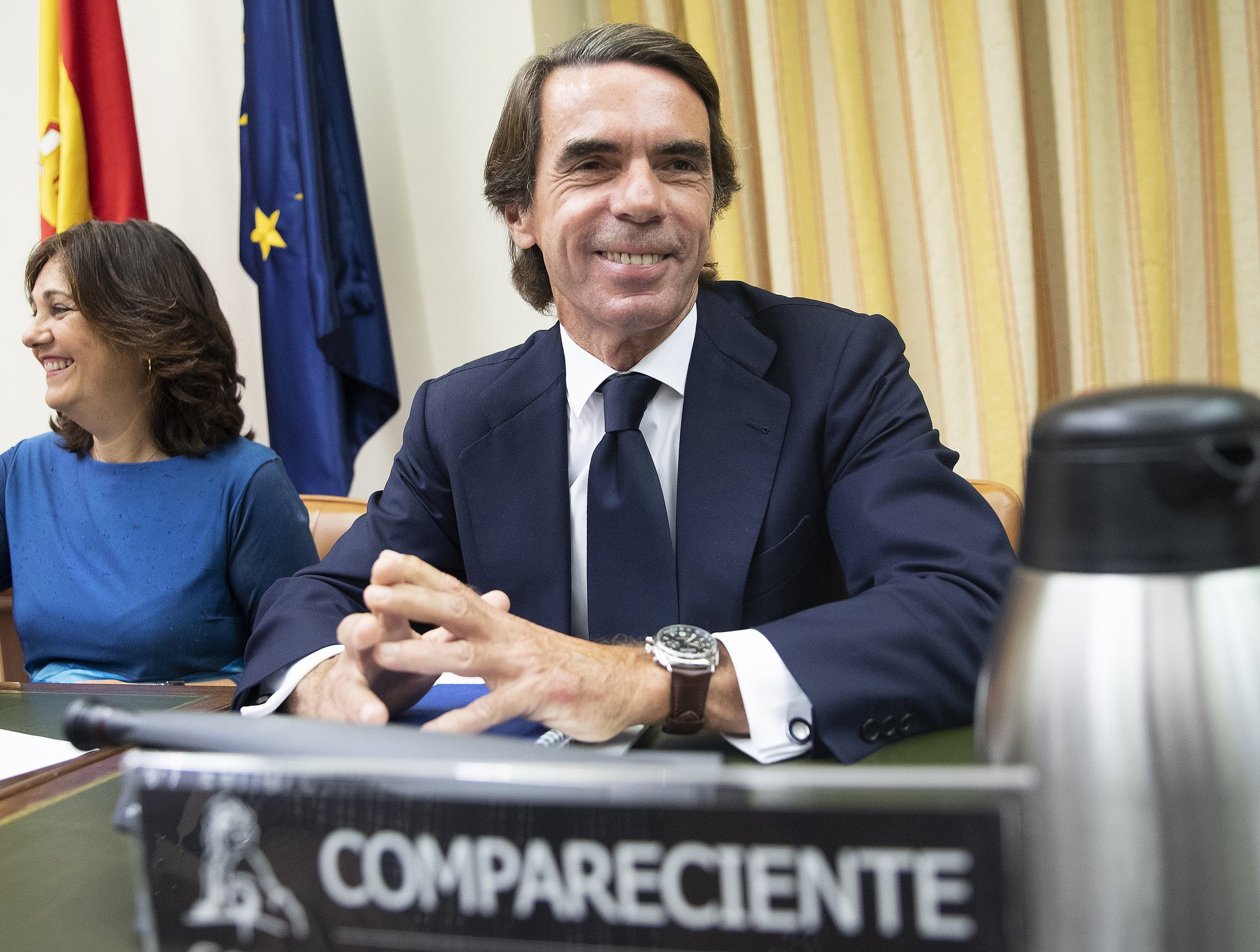 José María Aznar se ha 'comido' a Pablo Iglesias