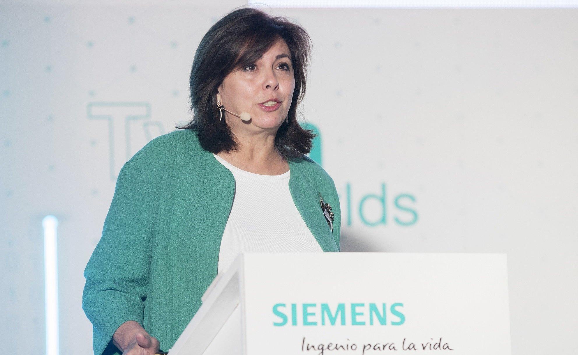 Rosa García fue fulminada por Siemens.